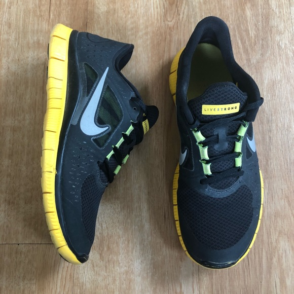 ec9359c813fc Nike Run 3 LAF Livestrong Men s Running Shoes 10
